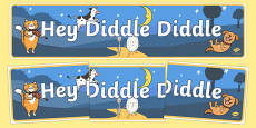 Hey Diddle Diddle Display Banner