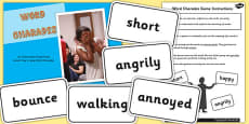 How to Play Word Charades PowerPoint Activity Pack