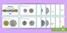 Year 1 Currency Maths Challenge Cards
