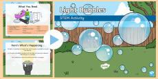 Light Bubbles STEM PowerPoint