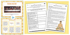 Similarities and Differences Between Religions and their Rituals Lesson Teaching Pack
