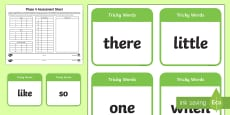 * NEW * Phase 4 Phonics Assessment Pack