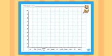 Class Pets Bar Graph Template