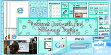 PlanIt - Computing Year 5 - Internet Research and Webpage Design Unit Additional Resources