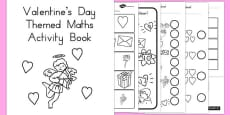 Australia - Valentine's Day Themed Maths Activity Book