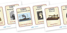 Timeline Of Victorian Inventions Cards