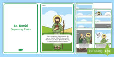St David Story Sequencing Cards