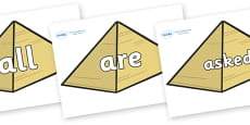 Tricky Words on Pyramids