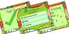 Australia - Healthy Living Multiple Choice Quiz Game