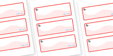 Ant Themed Editable Drawer-Peg-Name Labels (Colourful)