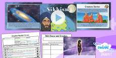 PlanIt - RE Year 6 - Creation Stories Lesson 4: Sikhism Lesson Pack