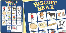 Vocabulary Poster to Support Teaching on Biscuit Bear