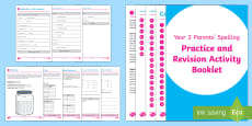 * NEW * SATs Survival: Year 2 Parents' Spelling Practice and Revision Activity Booklet
