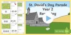 * NEW * St. David's Day Parade Differentiated Activity Sheets