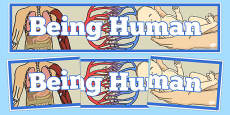 Being Human Display Banner