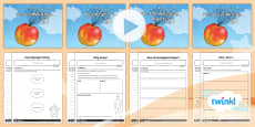 PlanIt Y4 Explorers: James and the Giant Peach WriteIt Pack
