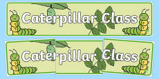 Caterpillar Class Display Banner