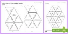 Energy Changes Tarsia Triangular Dominoes