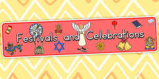 Australia Festivals and Cultural Celebrations Display Banner