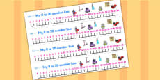 0-30 Number Line (Toys)