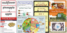 KS1 British Food Fortnight Resource Pack