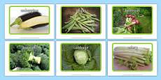 Vegetable Display Photos
