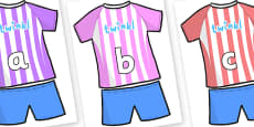 Phase 2 Phonemes on Football Strip
