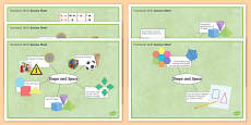 Functional Skills Shape and Space Success Sheets
