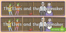 The Elves and the Shoemaker Display Banner