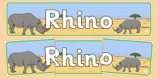 Rhino Display Banner