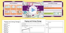 UAE Paying and Giving Change PowerPoint Pack