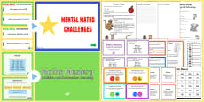 Mental Maths Games Resource Pack