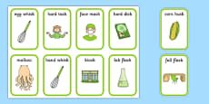 Word Final SC SK Playing Cards Two Syllables
