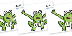 Phase 3 Phonemes on Frogs
