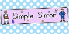 Australia - Simple Simon Display Banner