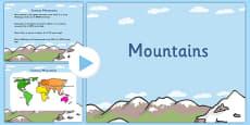 Mountains PowerPoint