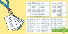 CfE First Level Numeracy and Mathematics Lanyard-Sized Benchmarks