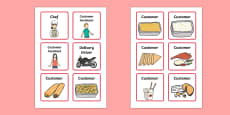 Chinese Takeaway Role Play Badges