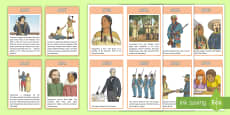 Native American Timeline Cards