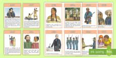 Native American Timeline Cards