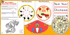 Chinese New Year Lapbook Creation Pack