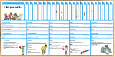 Foundation PE (Reception) Cool-Down Activity Cards and Resource Pack