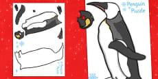 Labelling a Penguin Puzzle