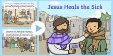 Jesus Heals the Sick Bible PowerPoint Story