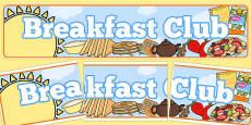 Breakfast Club Banner
