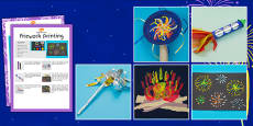 Bonfire Night Craft Activity Pack