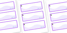 Florence Nightingale Themed Editable Drawer-Peg-Name Labels (Colourful)