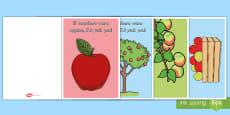 * NEW * If Teachers Were Apples, I'd Pick You! Card Craft
