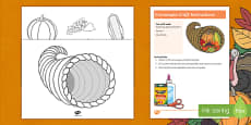 Cornucopia Craft Instructions