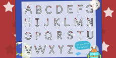 Space Themed Letter Writing Activity Sheet (Australia)
